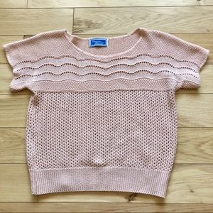 Vintage Knit Summer Sweater